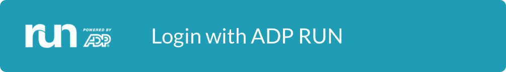 Sign in with ADP RUN
